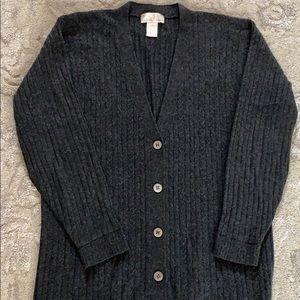Silk & cashmere cardigan